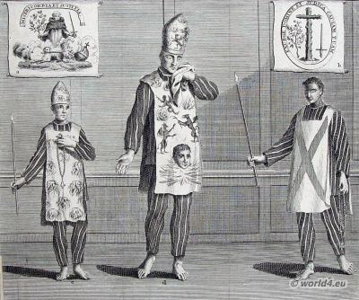 Spain Inquisition costumes ideas. Catholic church clothing. Criminal Habits dresses