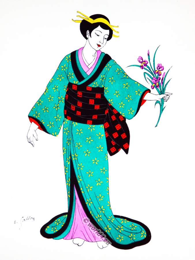 Java Japan And Indonesia Costumes Costume History