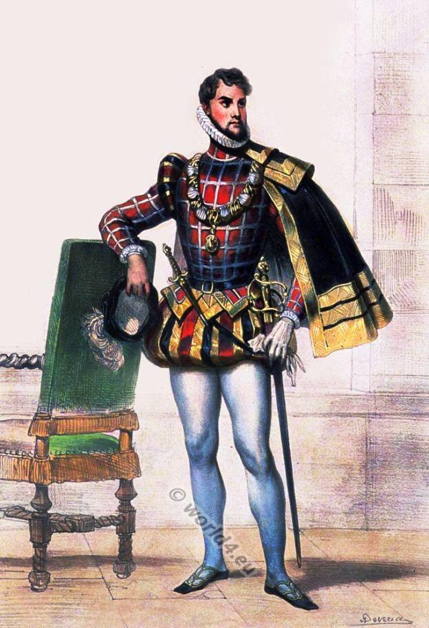 Prince d'Écosse XVIe siècle