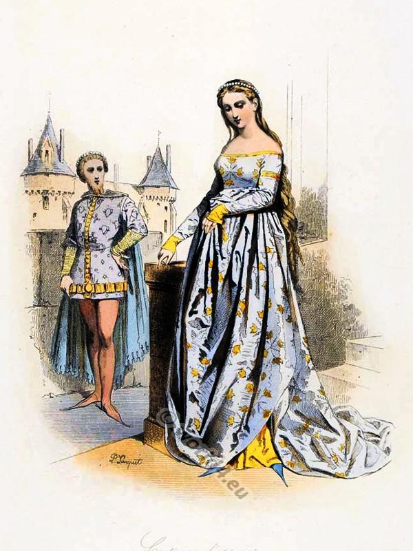 Headdresses Of The 14th Century Costume History