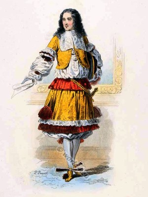 French Prince costume. 17th Century clothing. Louis XIV fashion. Baroque Court Dress in Versailles