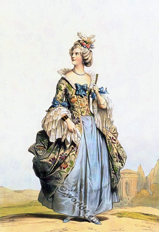 The reign of louis xv 1715 to 1774 costume history for French rococo period