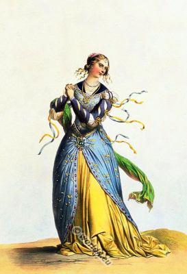 Dame française du temps de Charles VIII