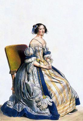 Louis XIII court dress. Baroque era costumes. 17th century clothing.