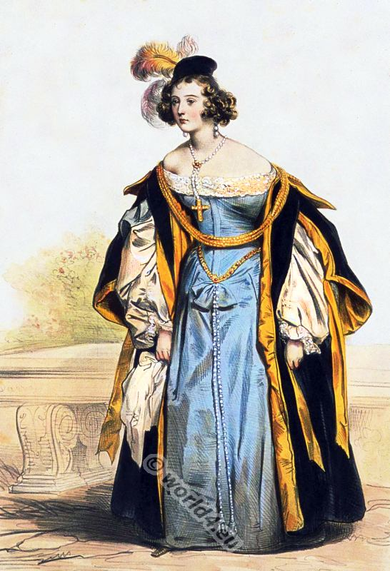 spanish renaissance fashion 16th century costume history. Black Bedroom Furniture Sets. Home Design Ideas