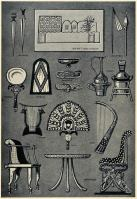 Ancient Egypt weapons and furnitures, Shoes, Music Instruments
