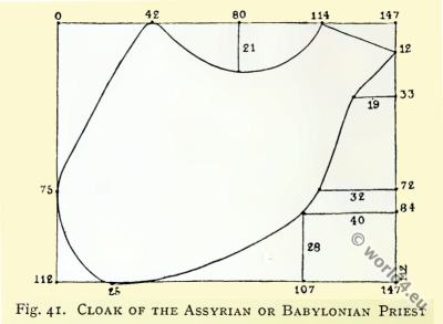 cloak, Assyria, Babylonia, Priest, fashion, history