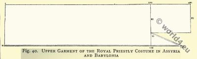 Royal Priestly Costume in Assyria and Babylonia.