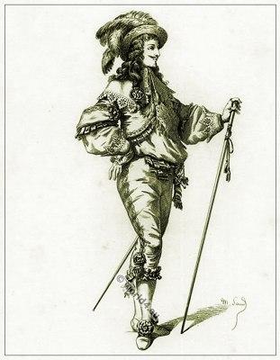 Commedia dell'arte Theater Costume Orazio, Masques et bouffons, Actors of the comédie italienne.