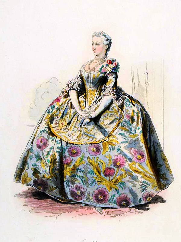 Fashion and costume in the 18th century costume history for French rococo fashion