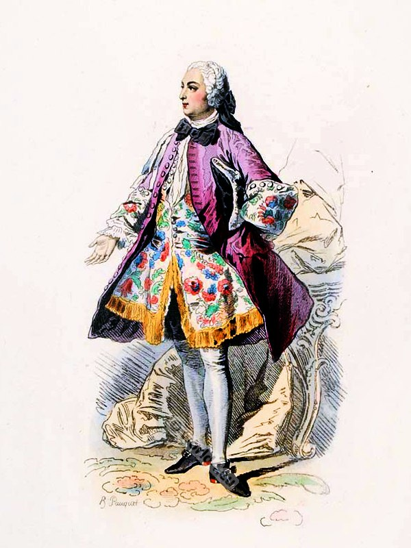 Italian Baroque Fashion Male