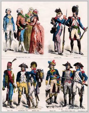 French, Republic, costumes, 18th, century fashion, revolution