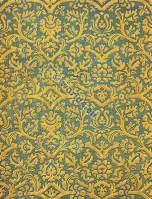 French design fabrics 17th century. Baroque fabric, textil design.
