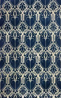 Italian renaissance fabric. 15th century fabrics design at Louvre. According to Jean de Fisole. Middle ages textil.