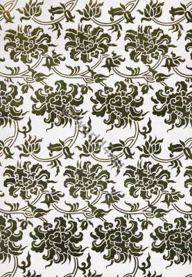 Modern two tones Japan fabric design. Textil ornament