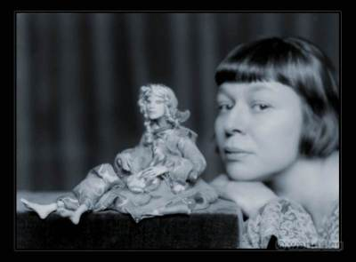 Lotte Pritzel. Art doll Artist. Art Deco costume dolls.