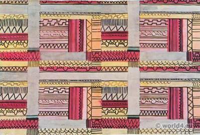 Jacqueline Groag. Hilde Blumberger 1930. Printed fabric design. Wiener Werkstätten. Viennese Modernists. Wiener Kunstgewerbeschule
