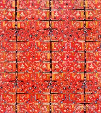 Illustration Kathe Mertens. Fabrics Design. Käthe Mertens. Textil print.