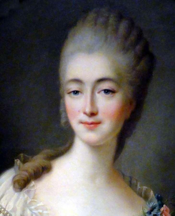 Madame du Barry. François Hubert Drouais. Rococo fashion. Mistress Louis XV.