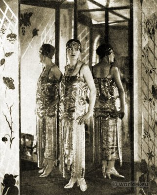 Paul Poiret. Salon Oriental. 1925. Art deco. Fashion, Costume