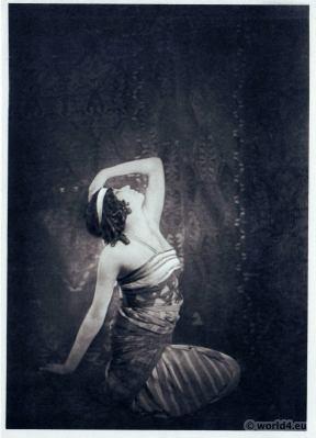 Sofia Fedorova in Cleopatra. Russian Ballet. Dance costume. Famous Opera