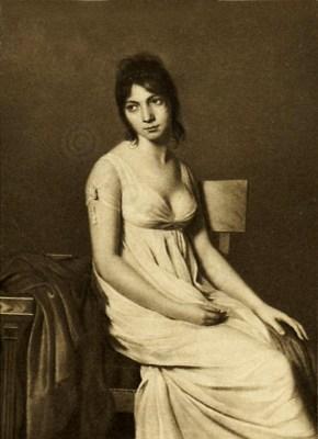 French Revolution Feminist. Merveilleuse Madame Hamelin. Directoire Fashion. French 18th century costume. Regency period