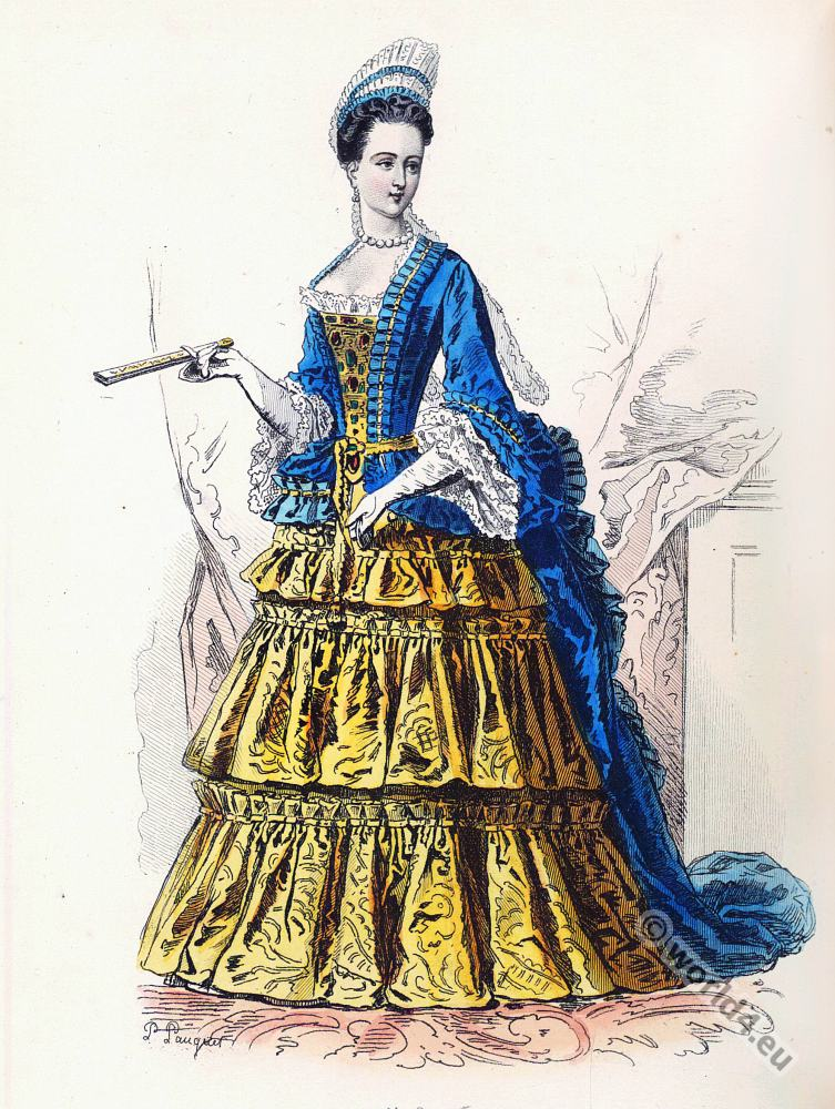 Reign Louis Xiv French Fashion History Costume History