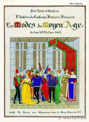Les Modes du Moyen Age. Miiddle ages fashion history