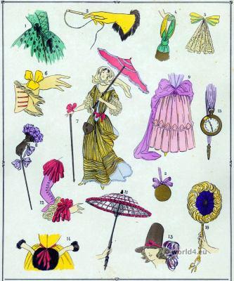 Louis XIV fashion. 17th century costumes. Baroque fashion