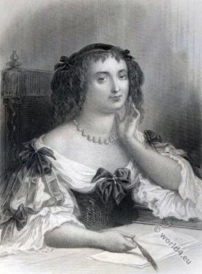 Madame de Sevigne. Hurluberlus. Baroque fashion