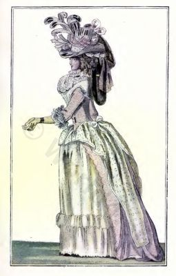 French Revolution costumes. Directory fashion. Empire costumes. Regency costumes