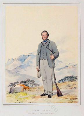 John Grant. Traditional Scottish National Costume. The Highlanders of Scotland.