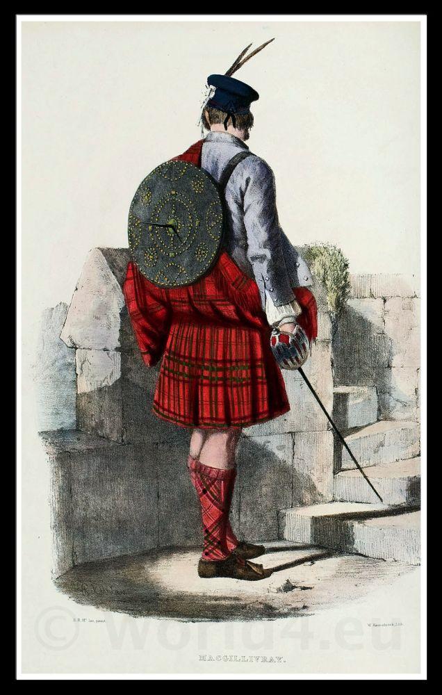 Clan, Gillinhreac, Mac Gillivray, Costume, kilt, tartan