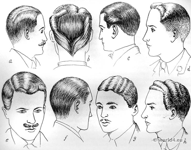 hair style 1930 hair styles of the 1930s costume history 4746