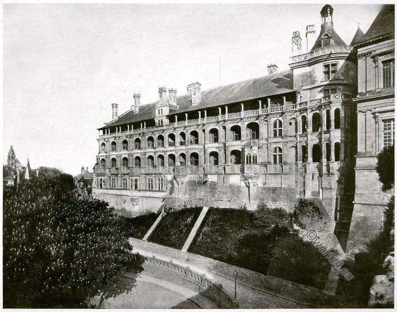 Royal, Château de Blois, France, Loire Valley, Louis XII,Francis I