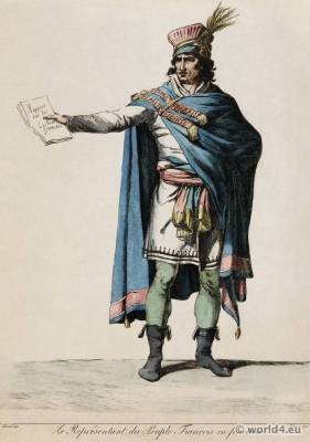Jacques-Louis David. Directory costume. French revolution fashion.