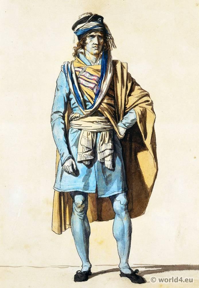 cc6ccd4adb56 French revolution fashion. Habit de législateur. Le représentant du