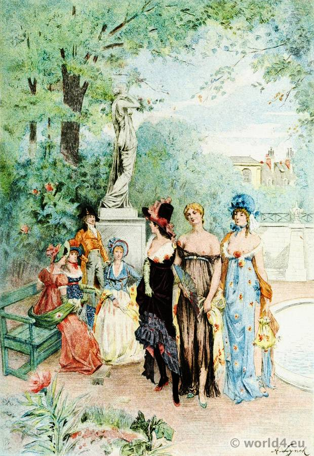 Fashion History The French Republic Costume History
