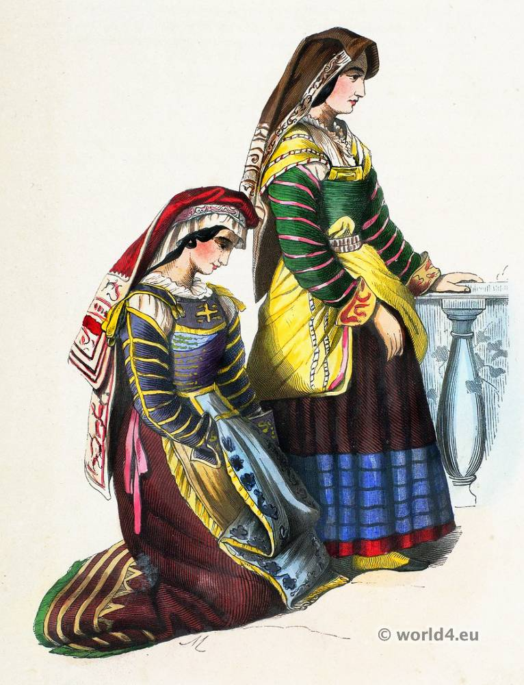 Peoples Of The World European Costumes Costume History