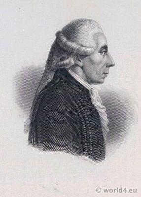 Freemason Portrait Jean-Sylvain Bailly. French Revolution History. Directoire costume.