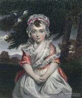 Portrait Lady Charlotte Cavendish-Bentinck. French Revolution History. Directoire costume. Prime Minister of Great Britain