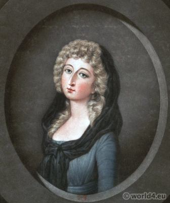 Marie Thérèse Charlotte of France. Daughter of Marie Antoinette. Madame Royale. French Revolution History.