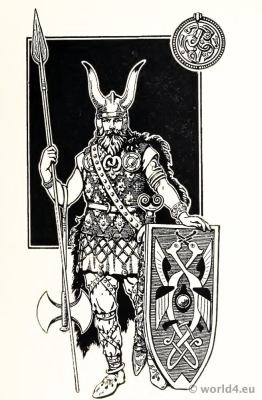 Viking, Costume, Varangian, Guard, Byzantine