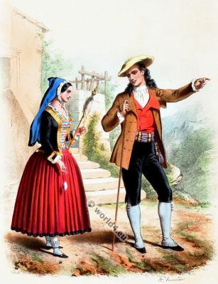 Basques, Costumes, Alexandre Lacauchie, fashion history
