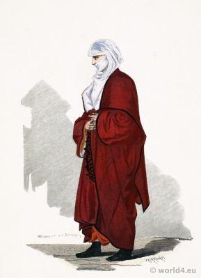 Traditional Armenian costume. Ottoman Empire clothing. Franz Lipperheide.