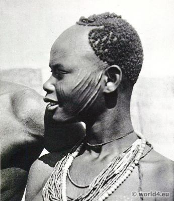 African tribe hairstyle, tribals.