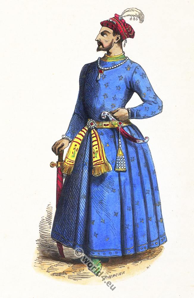 Indian Mughal Empire Costumes Costume History