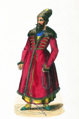 Noble Persian, Persia 19th century, Iran, historic,clothing,traditional,oriental,costume,dress,