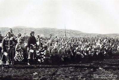 Poi dance, Maori, Māori warriors, piu-pius, battle, New Zealand, Tribal