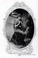 American actress Maude Adams. Peter Pan costume. Broadway show.